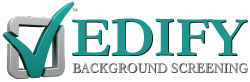 EDIFY Background Screening Logo